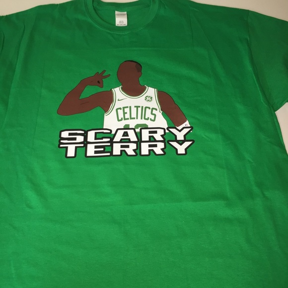 """on sale 380aa d3c6b """"Scary Terry"""" Terry Rozier T-Shirt"""